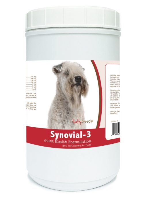 Healthy Breeds 840235114031 Soft Coated Wheaten Terrier Synovial-3 Joint Health Formulation - 240 Count