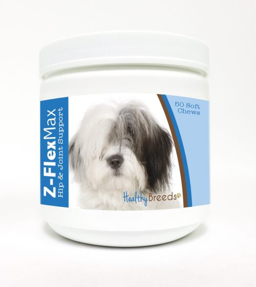 Healthy Breeds 840235114154 Old English Sheepdog Z-Flex Max Hip & Joint Soft Chews - 50 Count