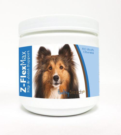 Healthy Breeds 840235114314 Shetland Sheepdog Z-Flex Max Hip & Joint Soft Chews - 50 Count