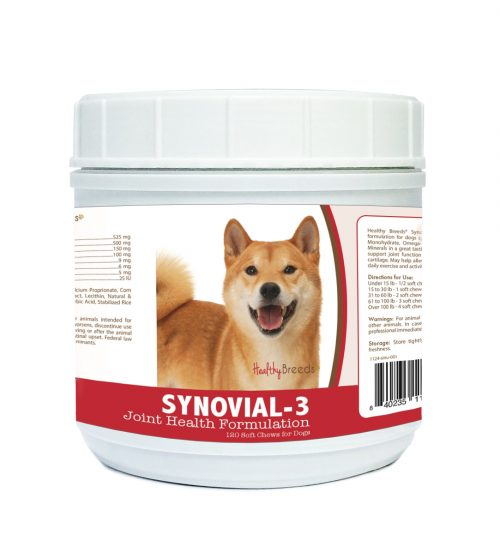Healthy Breeds 840235114789 Shiba Inu Synovial-3 Joint Health Formulation 120 Count