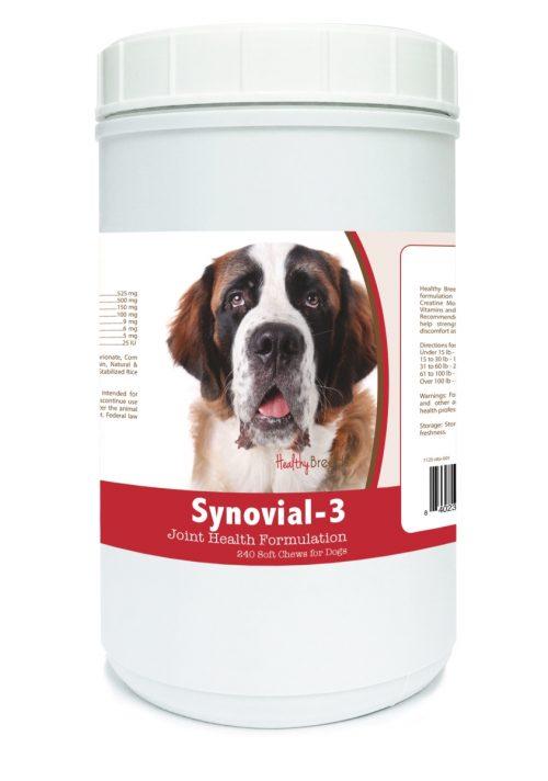 Healthy Breeds 840235115106 Saint Bernard Synovial-3 Joint Health Formulation 240 Count
