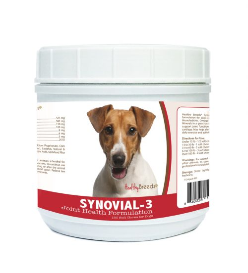 Healthy Breeds 840235117643 Jack Russell Terrier Synovial-3 Joint Health Formulation 120 Count