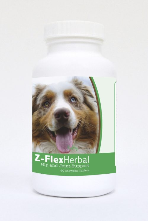 Healthy Breeds 840235118541 Australian Shepherd Natural Joint Support Chewable Tablets 60 Count