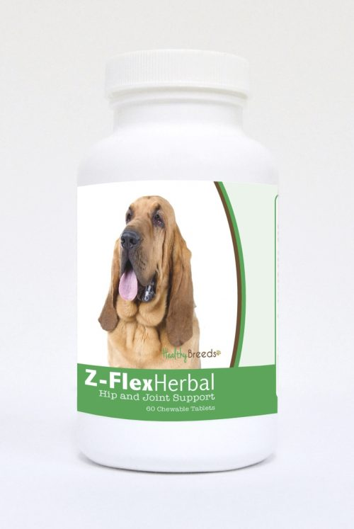 Healthy Breeds 840235119197 Bloodhound Natural Joint Support Chewable Tablets - 60 Count