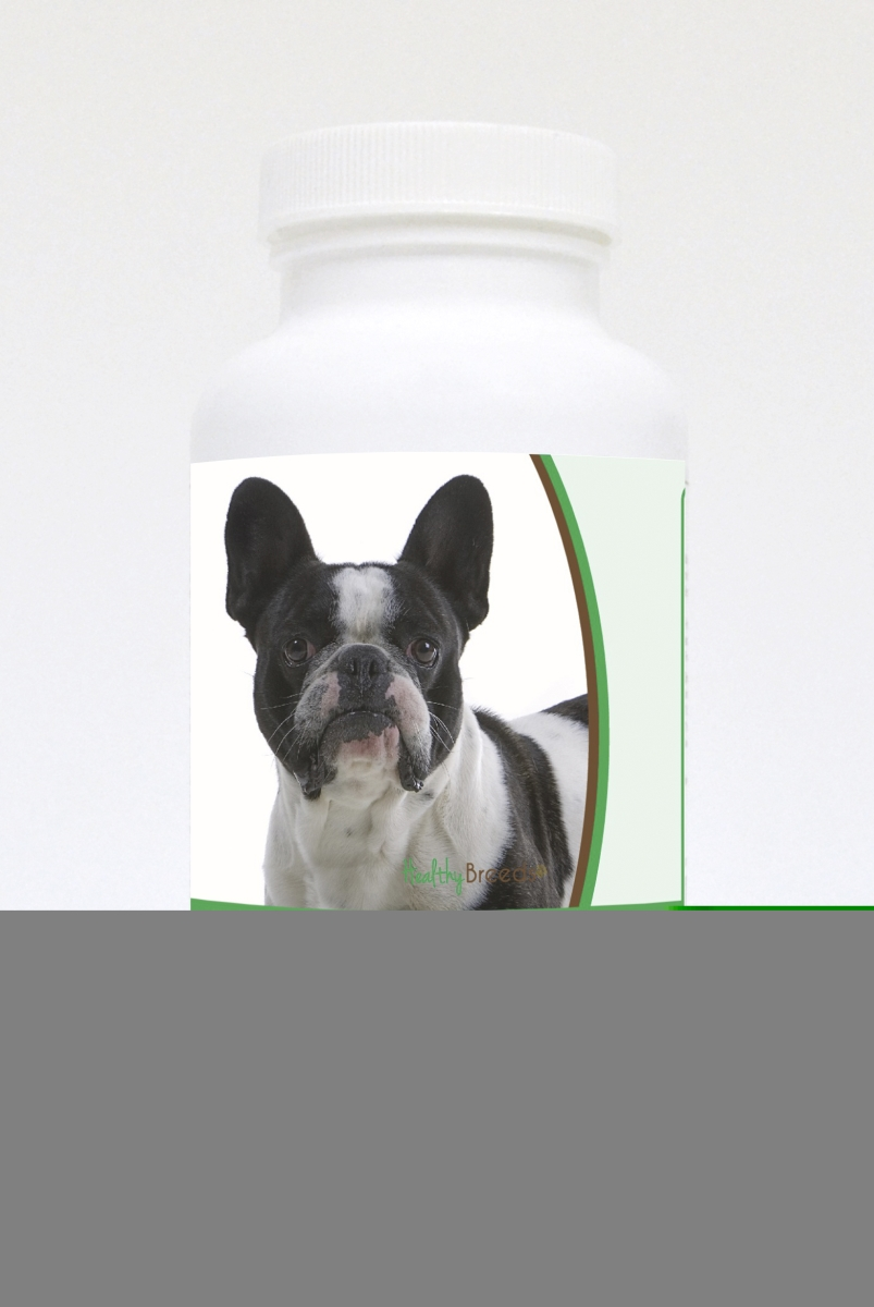 Healthy Breeds 840235121237 French Bulldog Natural Joint Support Chewable Tablets - 60 Count