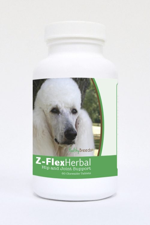 Healthy Breeds 840235123866 Poodle Natural Joint Support Chewable Tablets - 60 Count