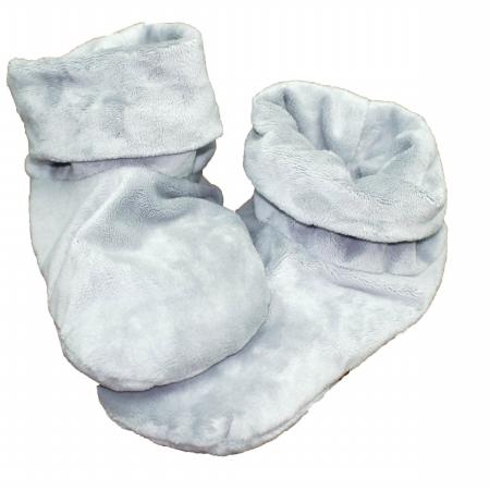 Herbal Concepts HCBOOTC Herbal Comfort Booties - Charcoal