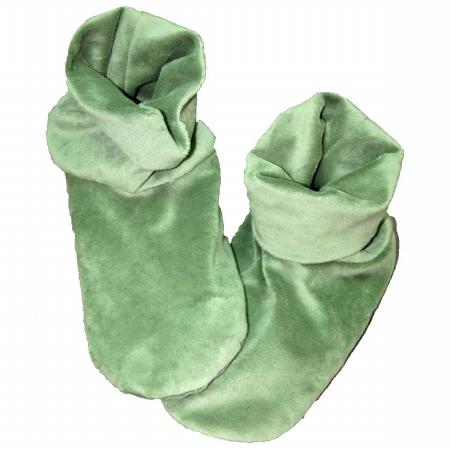 Herbal Concepts HCBOOTOG Herbal Comfort Booties - Olive Green