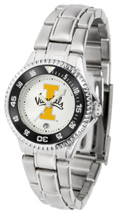 Idaho Vandals Competitor Ladies Watch with Steel Band