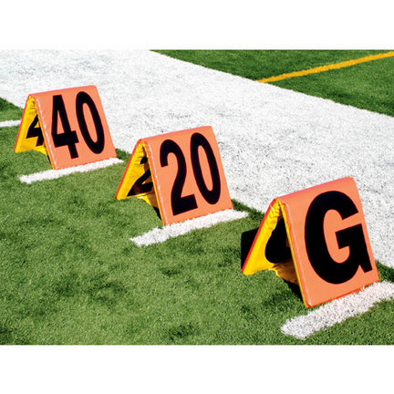 Improved Day / Night Sideline Markers - Set of 5