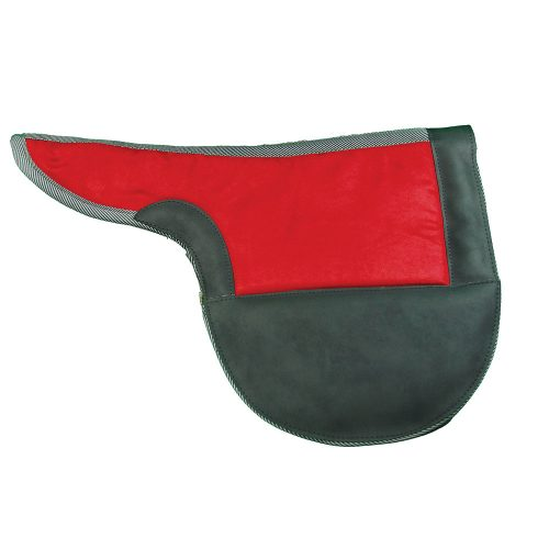 Intrepid International 158869GN 21.5 x 13.5 in. Race or Exercise Saddle Pad-Colors Hunter Green