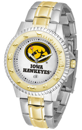 Iowa Hawkeyes Competitor Two Tone Watch