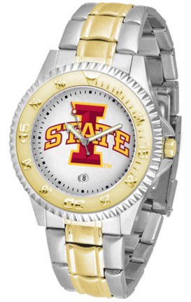 Iowa State Cyclones Competitor Two Tone Watch