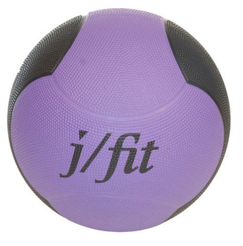 J Fit 20-0010 Premium Med Ball 10lbs - Purple-black