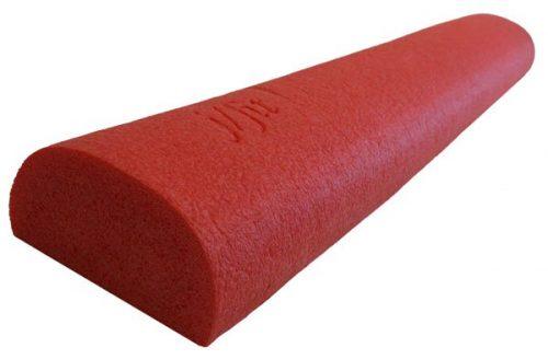 J Fit 20-2636 Half Round Foam Roller 36 Inch - Red