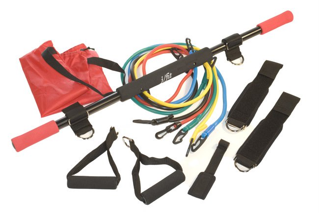 J Fit 20-3213 Deluxe Exercise Travel Kit