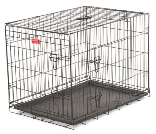 Jewett Cameron Company ZW 11530 30 in. Long Training Crate with 2 Door