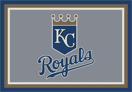 "Kansas City Royals 3'10"" x 5'4"" Team Spirit Area Rug"