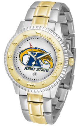 Kent State Golden Flashes Competitor Two Tone Watch