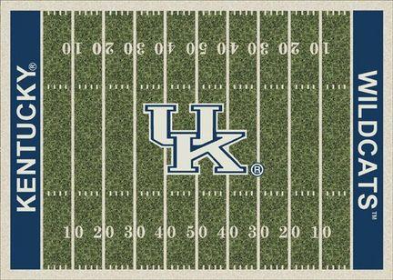 "Kentucky Wildcats 3' 10"" x 5' 4"" Home Field Area Rug"