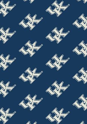 """Kentucky Wildcats 3' 10"""" x 5' 4"""" Team Repeat Area Rug"""