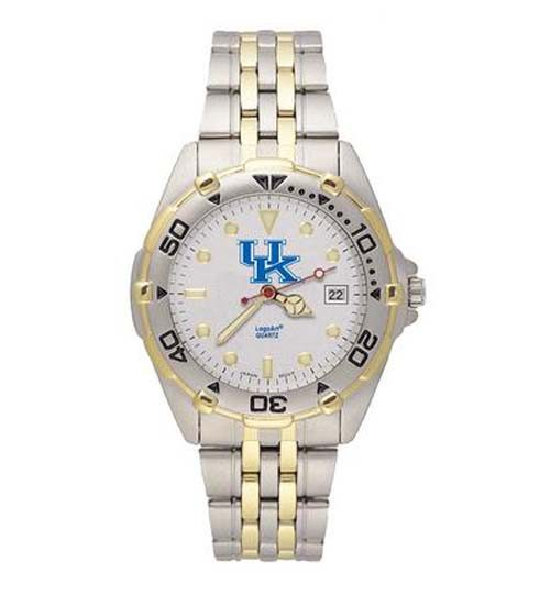 Kentucky Wildcats NCAA Men's All Star Watch with Stainless Steel Bracelet