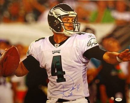 "Kevin Kolb Philadelphia Eagles Autographed Horizontal 16"" x 20"" Unframed Photograph"