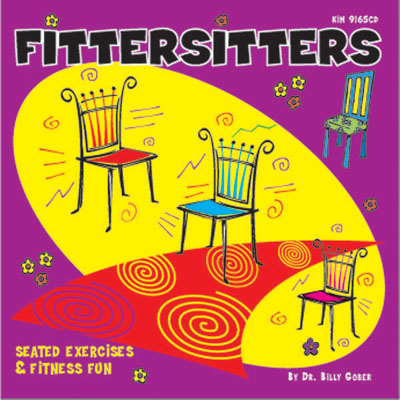 Kimbo Educational KIM9165CD Fittersitters Fitness CD For Age 5 Plus
