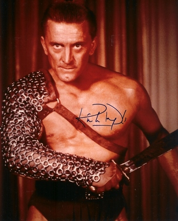 """Kirk Douglas Autographed 8"""" x 10"""" Photograph (Unframed)"""