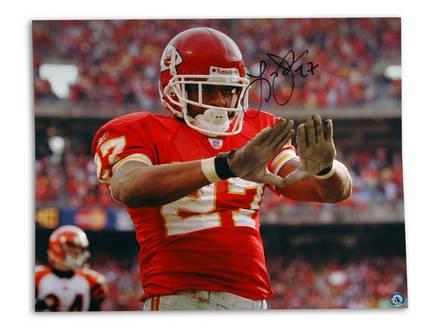 "Larry Johnson Kansas City Chiefs Autographed 16"" x 20"" Photograph (Unframed)"