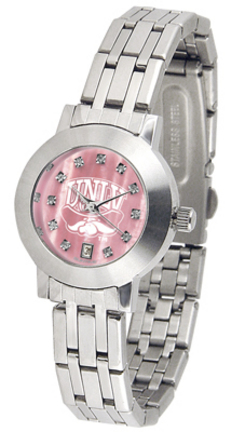 Las Vegas (UNLV) Runnin' Rebels Dynasty Ladies Watch with Mother of Pearl Dial