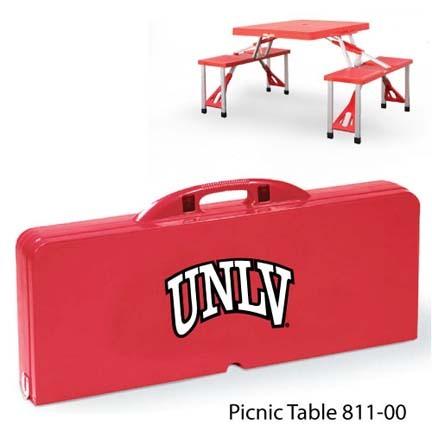 Las Vegas (UNLV) Runnin' Rebels Portable Folding Table and Seats