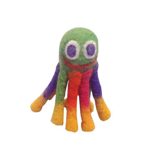 Le Sharma LSOM-01 Mini 6 in. Eco Octopus - Green