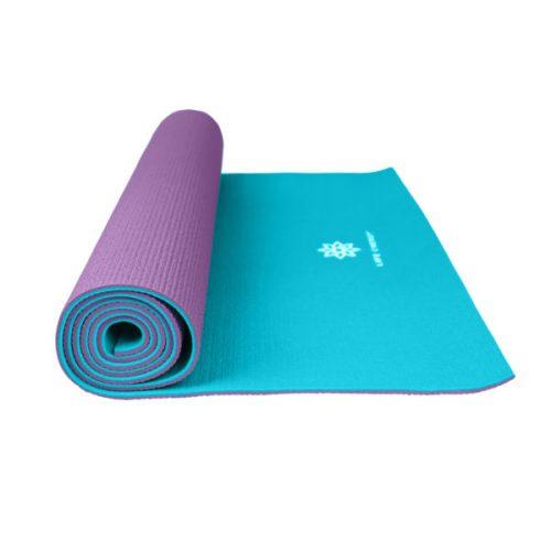 Life Energy Reversible Yoga Mat Amethyst