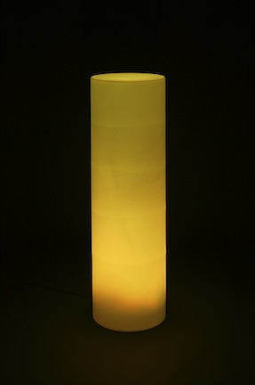 "Lighted Cylinder / Furniture (21"" Diameter x 66"" Tall - No Bulb) from Pool Shot"