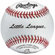 Little League Raised Seam Youth Baseballs For Tournament Play from Rawlings - (One Dozen)