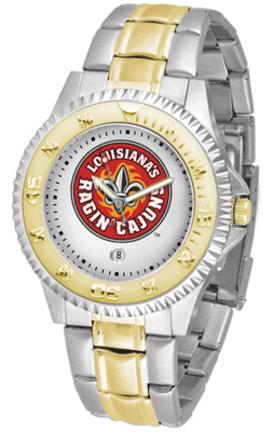 Louisiana (Lafayette) Ragin' Cajuns Competitor Two Tone Watch