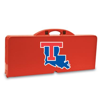 Louisiana Tech Bulldogs Folding Picnic Table