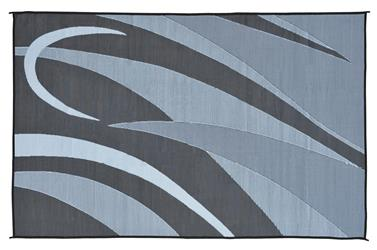 MINGS MARK GA1 Graphic Mat 8x12 Black Silver