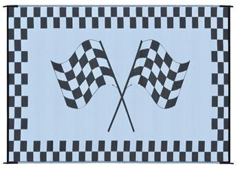 MINGS MARK RF6091 Racing Mat 6x9 Black White