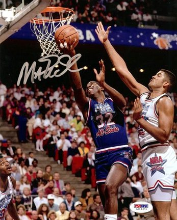 """Magic Johnson Los Angeles Lakers NBA """"1992 All-Star Game"""" Autographed 8"""" x 10"""" Photograph"""