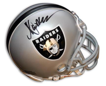 Marcus Allen Autographed Oakland Raiders Riddell Mini Helmet