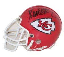 Marcus Allen, Kansas City Chiefs Autographed Riddell Authentic Mini Football Helmet