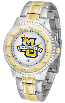 Marquette Golden Eagles Competitor Two Tone Watch