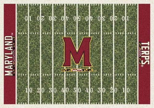 "Maryland Terrapins 3' 10"" x 5' 4"" Home Field Area Rug"