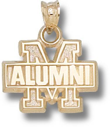 "Maryland Terrapins ""M Alumni"" Pendant - 10KT Gold Jewelry"