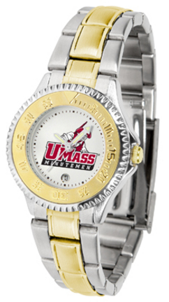 Massachusetts Minutemen Competitor Ladies Watch with Two-Tone Band