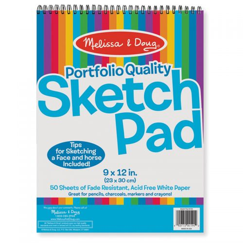 Melissa & Doug LCI4194BN Sketch Pad 9 x 12 in.