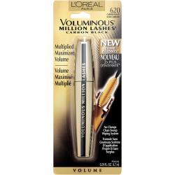 Merchandise 47851394 Loreal Voluminous Million Lashes Mascara 620 Carbon Black