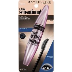 Merchandise 7574975 Maybelline New York Lash Sensational Waterproof Mascara Brownish Black 0.34 fl oz